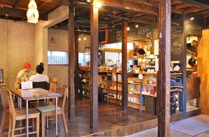 HAGISOの1階にある「HAGI CAFE」
