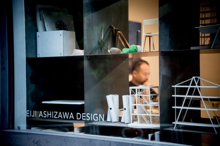 閑静な住宅街にある芦沢建築設計事務所