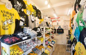 写真にはほとんど写っていませんが、伊藤さんの最近のオススメ商品は「飽きてきたTシャツ」とのこと