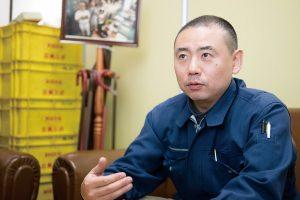 代表取締の遠藤智久さん。モノづくり企業の若手経営者を対象にした、学びの場の運営にも多数関わっている