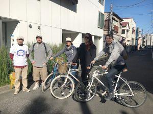 清澄白河の自転車メーカー「alohaloco(アロハロコ)」の自転車で深川の街を巡ります
