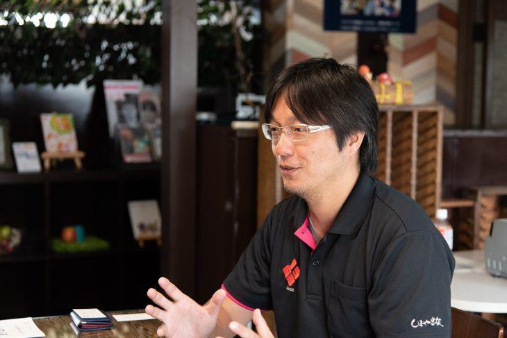小早川さんは、今から約10年前に異業種の営業職から未経験の印刷業界へ