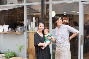 2018年2月、娘を出産。現在、子どもと一緒に過ごせるカフェのプロデュースなども始めている