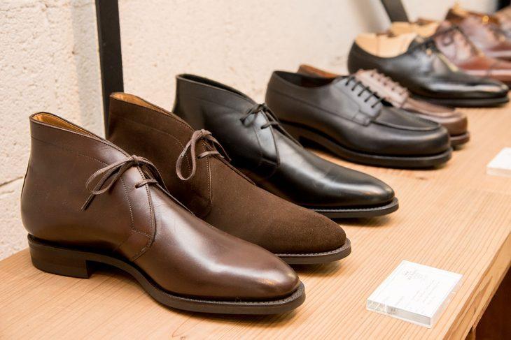 既製品の中からお客様1人1人に合った靴を提案するのがRENDOのスタイル