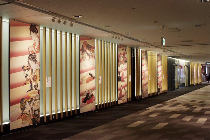 成田国際空港第1旅客ターミナル中央ビル ナリタ北斎プラザ ©MASAMI DESIGN co.,ltd